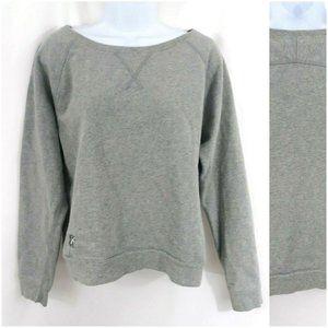 Madewell Daryl K Long Sleeve Crop Sweatshirt